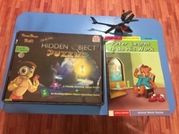 Used Free Helicopter with Puzzle,story book in Dubai, UAE