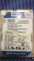 Used 500GB - laptop hdd 2.5 inch in Dubai, UAE