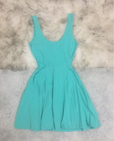 Forever21 Turquoise Dress