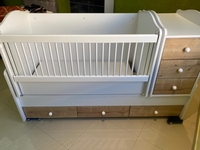 Used Baby bed not used like new  in Dubai, UAE
