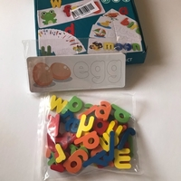 Used Wooden spell words game (new) in Dubai, UAE