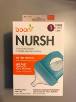 Used Boon Nursh baby bottle. 2 pieces in Dubai, UAE