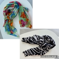 Used 2 Zara scarfs in Dubai, UAE