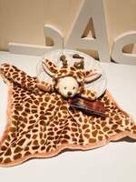 Used Ziggy Giraffe cuddle rug 33 x 33 cm  in Dubai, UAE