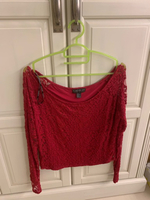 Forever 21 crop top used size XL