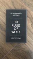 Used The Rules of Work by Richard Templar!! in Dubai, UAE