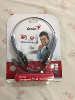 Used Genius Headphone with mic in Dubai, UAE