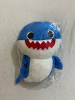 Used Singing Baby shark doll 2 pieces  in Dubai, UAE