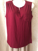 TOP/BLOUSE red L