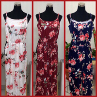 Used 3 pcs of Floral Jumpsuits and Rampers/S  in Dubai, UAE