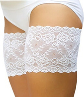 Used 2 pairs Anti Chafing Thigh Bands/ White  in Dubai, UAE