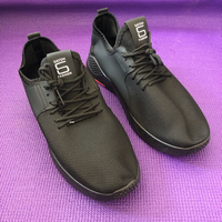 Used Black Sneaker/ 42 in Dubai, UAE