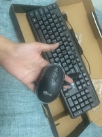 Used USB keyboard with mouse - Never used  in Dubai, UAE