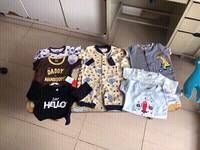 Used New 7 mix Brands 👦 rompers,carters👇 in Dubai, UAE