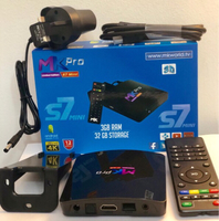 Used Mkpro s07 mini tv box  in Dubai, UAE