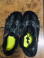 Used Hiking /Swimming shoes black -43 ❤️ in Dubai, UAE