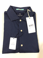NEW SCOTCH & SODA Shirt Size S Dark Blue