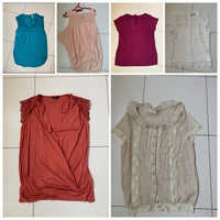 Used 6 blouses small in Dubai, UAE