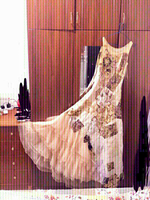Used Lovely Bridal long gown with embroidery  in Dubai, UAE