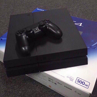Used SONY  PS4 500GB JET BLACK CONSOLE in Dubai, UAE