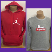 Used Gray/Red Sweatshirts/ Large & Small  in Dubai, UAE