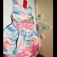 Used Pink party dress size 4-5 year in Dubai, UAE