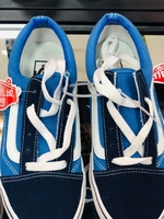 Used VANS UNISEX SHOES 36 to 45 size blue in Dubai, UAE