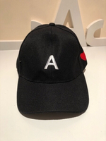 Used Black letter A baseball cap one size in Dubai, UAE