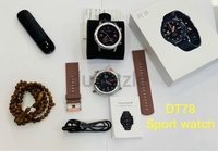 Used Round shape smart watch DT78 in Dubai, UAE