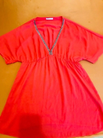 Used Orange blouse size L in Dubai, UAE