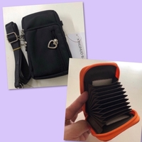 Used Phone Bag+ Genuine Leather Card Holder in Dubai, UAE