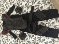 Used Black Ninja Costume 4-7 years in Dubai, UAE
