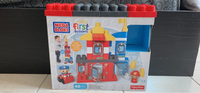 Used Megabloks fire station toy blocks set in Dubai, UAE