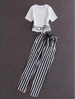 Shirt and pant white M