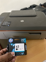 Used Original hp ink 63 and hp printer in Dubai, UAE