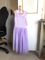 Used New Junior purple lavender gown BabyShop in Dubai, UAE