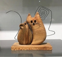 Used Handmade cat and mouse sculpture  in Dubai, UAE