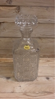 Used Cristal d'Arques Glass Bottle 1L in Dubai, UAE