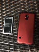 Used Samsung s5 battery and cover in Dubai, UAE