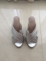 Silver shoes - size 38