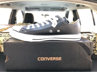 Used Converse AllStar Leather Black/White in Dubai, UAE
