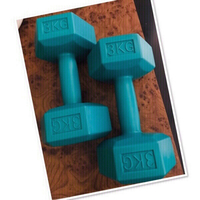 Used 3Kg Dumbbell 2X 💙 in Dubai, UAE