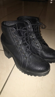 Used black boots in Dubai, UAE