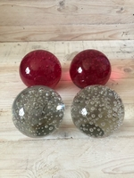 Used 4 decorative glass balls  in Dubai, UAE
