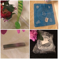 Baking Mat+Molder+Magnet+Shower Brush