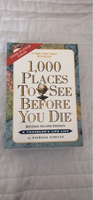 Used Travel book (1000 places to see) in Dubai, UAE
