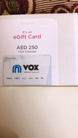 Used Aed 250 Vox cinemas in Dubai, UAE