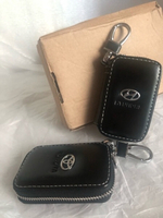 Used 2 Leather car key bags ✨Toyota & Hyunda  in Dubai, UAE