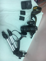 Used DSLR NIKON D5200(w/ Accessories and bag in Dubai, UAE