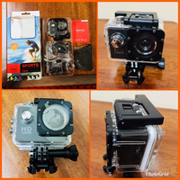 Used SPORTS CAM - Waterproof - NEW in Dubai, UAE
